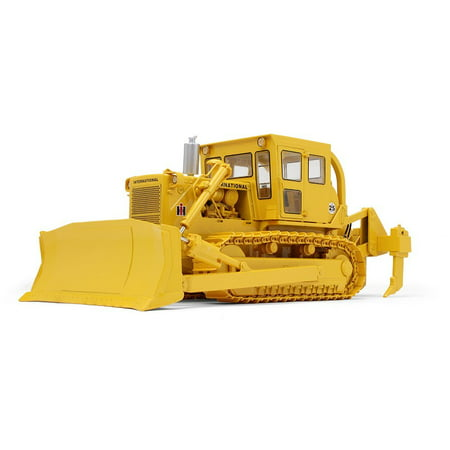 First Gear Diecast Collectible International TD-25 Dozer with Enclosed Cab and Ripper 1/25 -