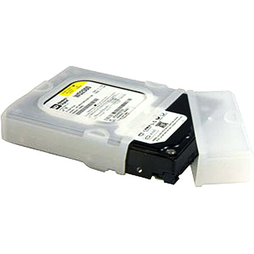 Startech.com HDDSLEV35 Hard Drive Protector Sleeve with Connector Cap