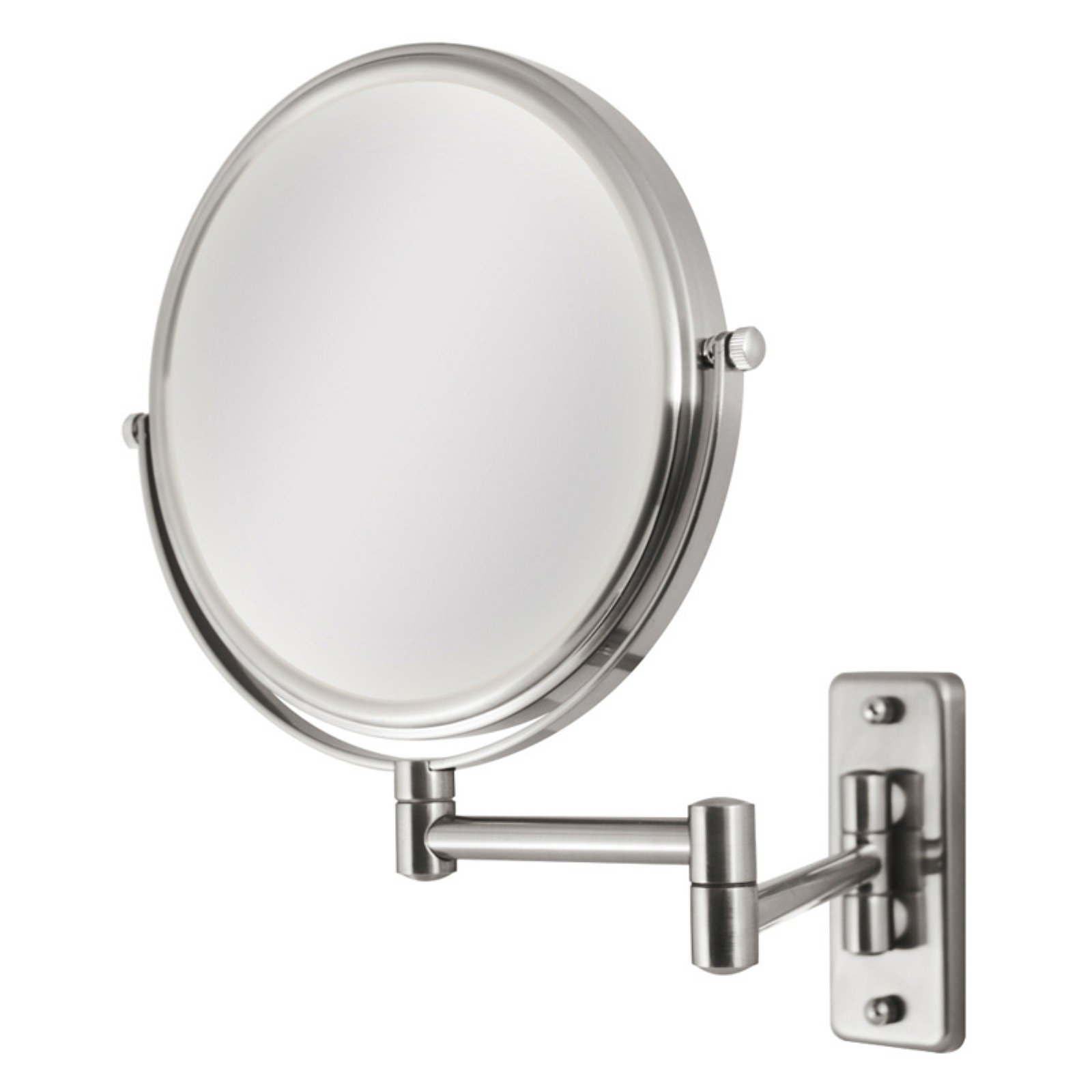 Ovw45 Zadro Two Sided Dual Arm Wall Mount Mirror With 1x