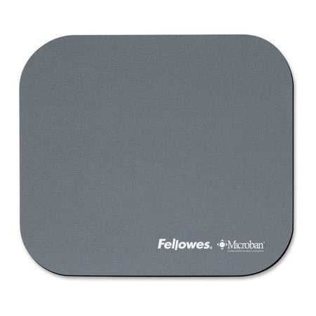 Fellowes Mouse Pad with Microban Antimicrobial Protection, Graphite