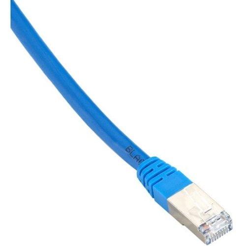 Black Box CAT6 400-MHz Black 20-ft. 6.0-m FTP Shielded Plenum Solid Backbone Cable