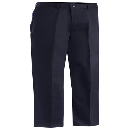 Edwards Garment Men's Casual Chino Flat Front Dress Pant, Style 2570