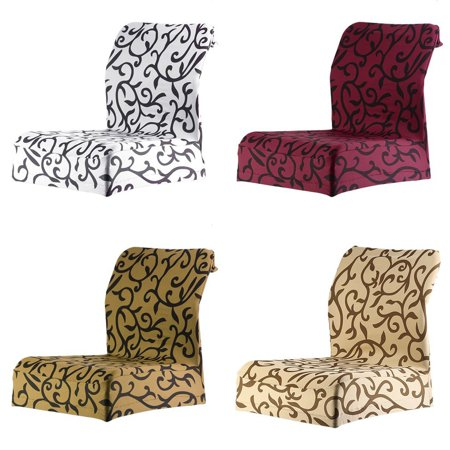 Jacquard Printed Thickening Stretch Brief Chair Cover Half Chair Covers - image 4 of 9
