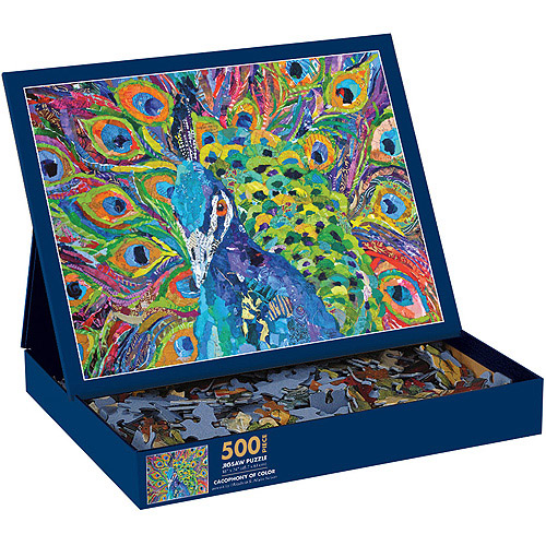 Cacophony of Color Puzzle, 500 Pieces