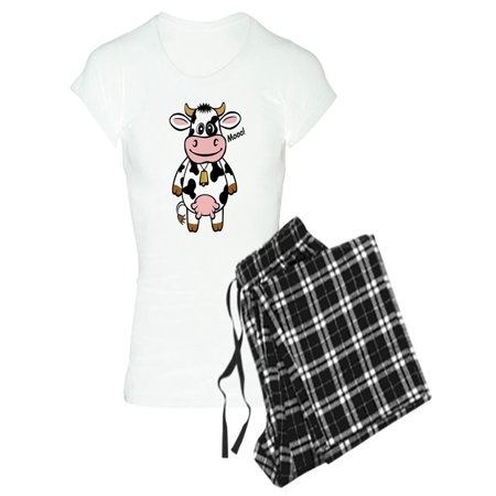 CafePress - Mooo Cow - Women's Light Pajamas