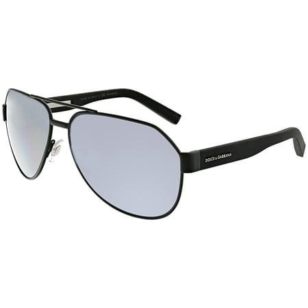 145b44cc5c7 Dolce   Gabbana - Dolce   Gabbana Women s Polarized DG2149-126081-61 Black  Aviator Sunglasses - Walmart.com