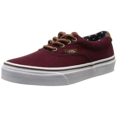 f28c6ceceb39ac Vans - Vans Boys Era 59 Canvas Low Top Lace Up Skateboarding Shoes -  Walmart.com