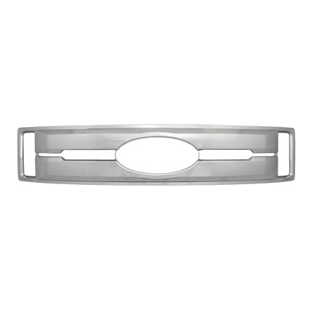 Coast To Coast International IWCGI147 Grille Insert  Overlay; Bar Style; 1 Piece; With Emblem Cutout; Chrome Plated; ABS Plastic - image 1 de 1