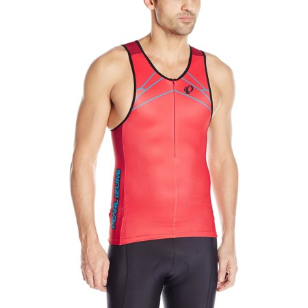 Pearl Izumi Men's Elite Inrcool Limited Tri Singlet Vaporize True Red