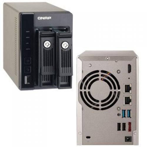 QNAP High-Performance 2-bay NAS Server for SMBs by QNAP