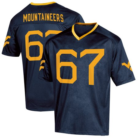 Youth Russell Athletic Navy West Virginia Mountaineers Replica Football Jersey West Ham Home Jersey