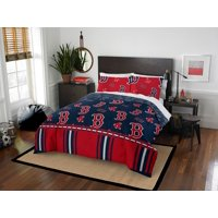 MLB Boston Red Sox Queen Bed In Bag Set
