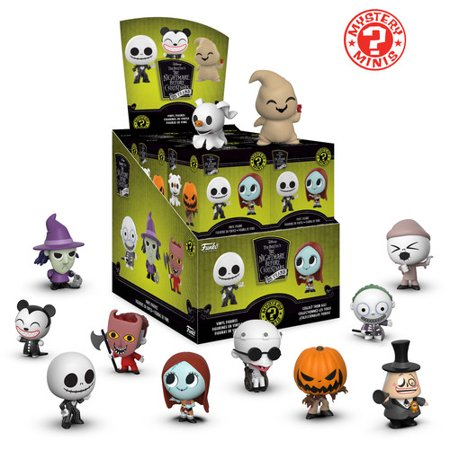 FUNKO MYSTER MINI: Nightmare Before Christmas](Nightmare Before Christmas Tablecloth)