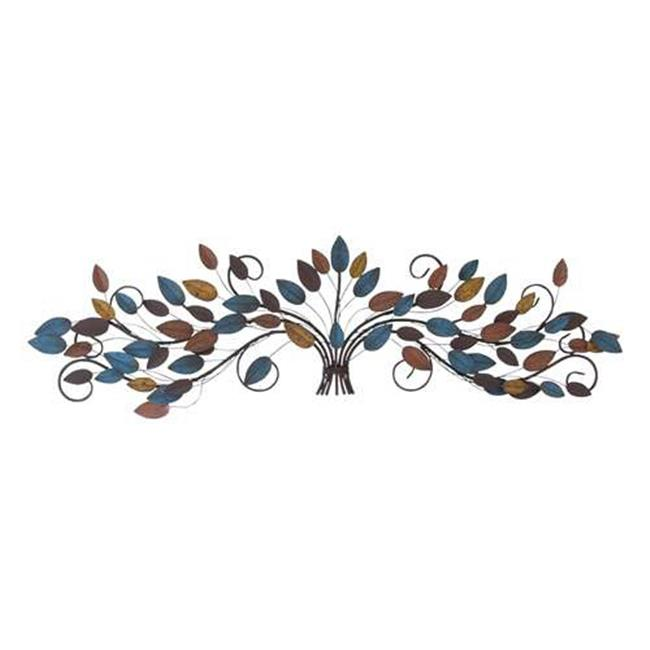 Woodland Import 96901 Metal Wall Decor with Detail Work and Elegant Style