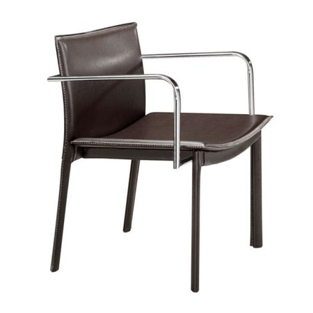 Modern Dining Chairs, Espresso Gekko Eclectic Design Conference Chairs, Set Of (Gekko Conference Chair)