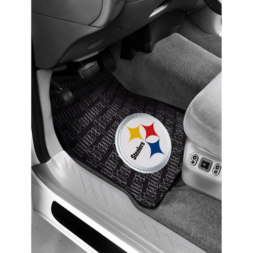 NFL - Pittsburgh Steelers Floor Mats - Set of 2