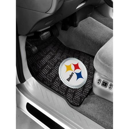 Nfl   Pittsburgh Steelers Floor Mats   Set Of 2