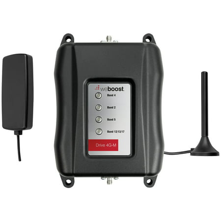weBoost 470121 Drive 4G-M Vehicle Cell Phone Signal Booster