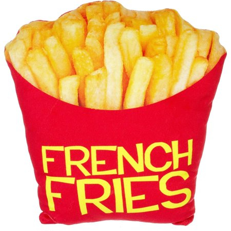 French Fries Plush Photo Real Pillow, 1 Each ()