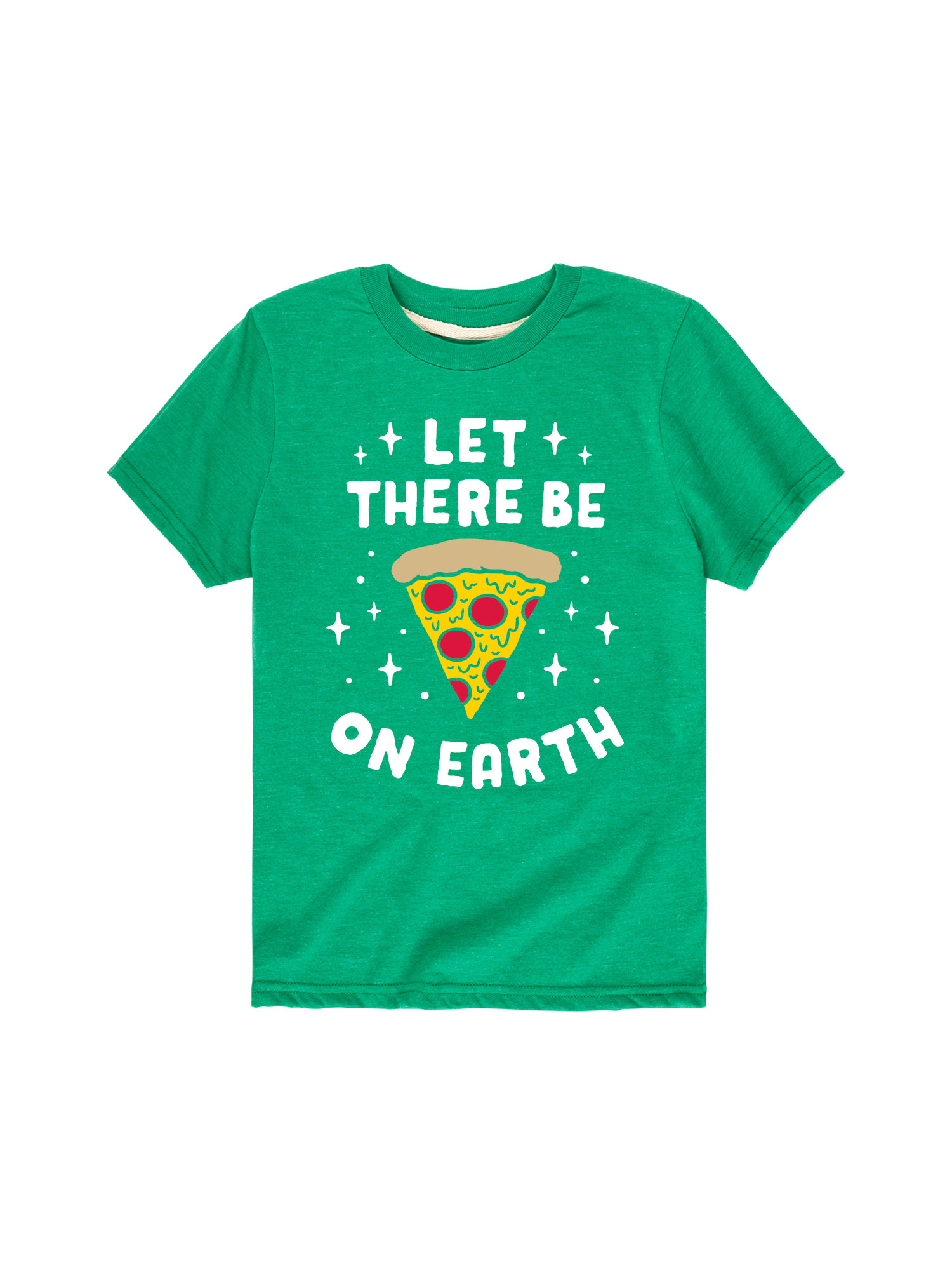 Pizza On Earth Darks Only - Toddler Short Sleeve Tee