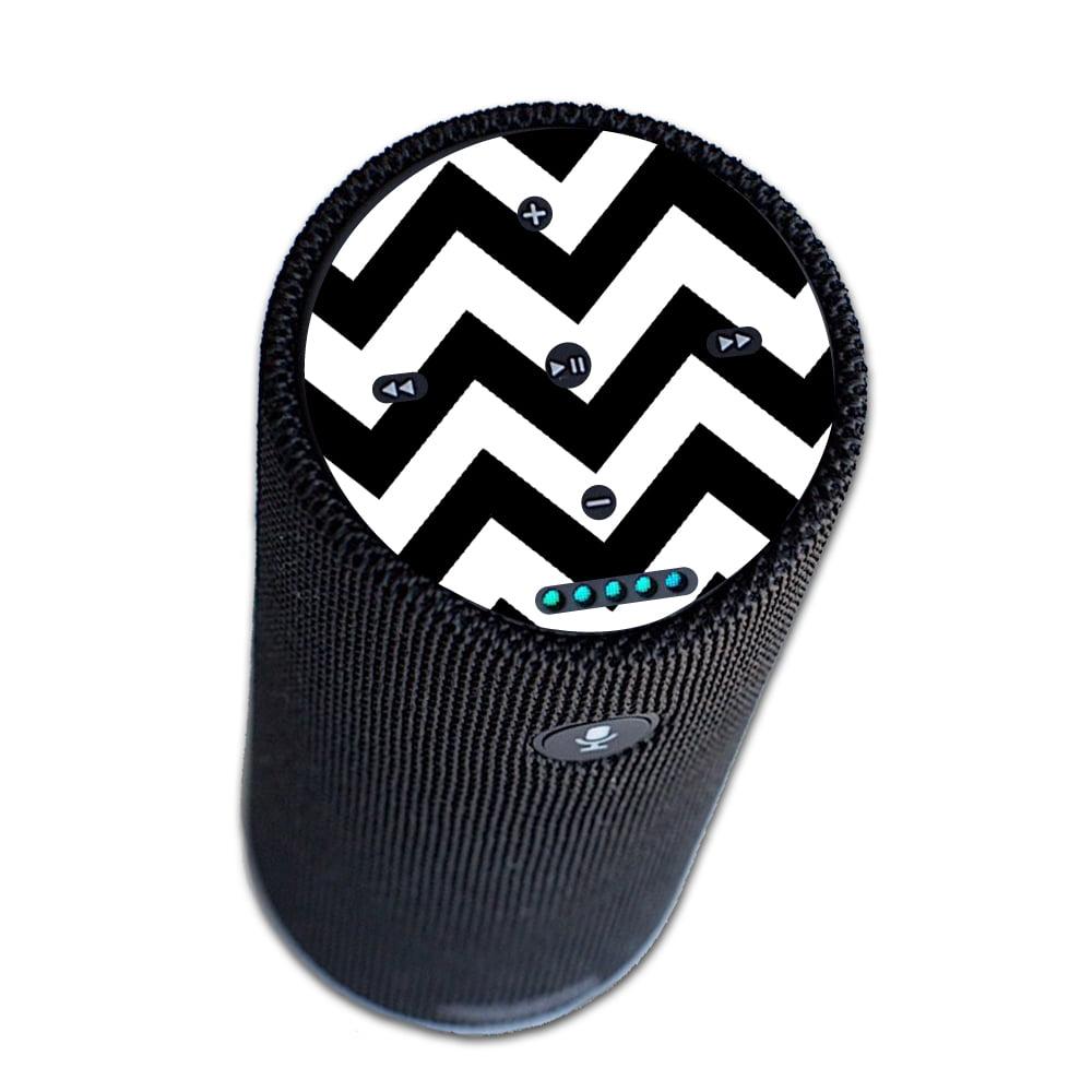 MightySkins Protective Vinyl Skin Decal for Amazon Echo Tap wrap cover sticker skins Aqua Chevron