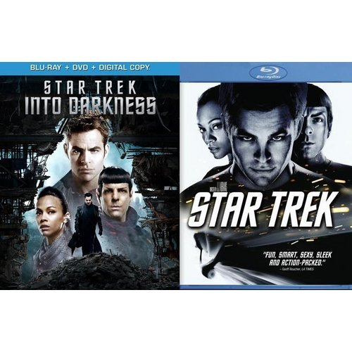 Star Trek: Into Darkness (Blu-ray + DVD + Digital Copy) / Star Trek (2009) (Walmart Exclusive) (With INSTAWATCH) (Widescreen)