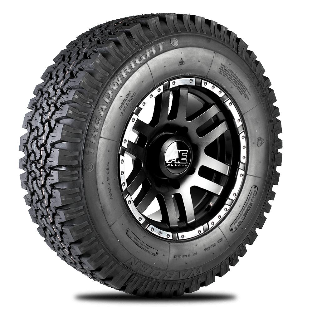 Warden 2417E, All-Terrain tire 245/75R17 E
