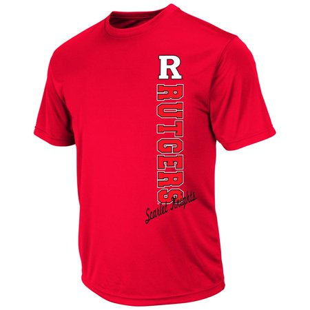 Mens Ncaa Rutgers Scarlet Knights Short Sleeve Tee Shirt  Team Color