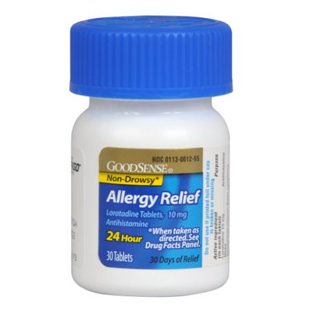 Best Good Sense Allergy Relief Loratadine Tablets, 10 mg 30 ea deal
