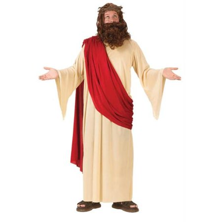 MorrisCostumes FW5436 Jesus With Wig And Beard (Jesus Wig And Beard)