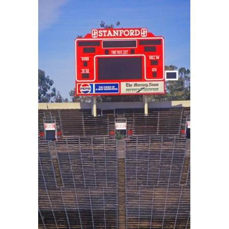 Stanford University Stadium in Palo Alto, California Print Wall (Stanford Store Palo Alto)