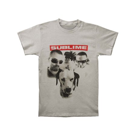 Sublime Men's  Group Photo W/ Dog Slim Fit T-shirt Grey](Group Photo Clothing Ideas)