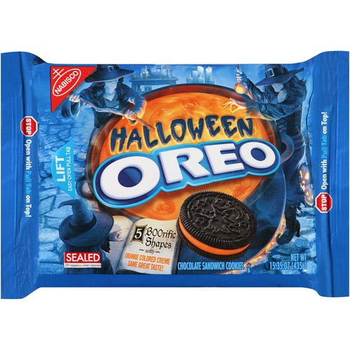 Nabisco Oreo Halloween Chocolate Sandwich Cookies, 15.35 oz