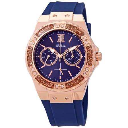 c92f18744 GUESS - Guess Limelight Crystal Blue Dial Ladies Watch W1053L1 - Walmart.com