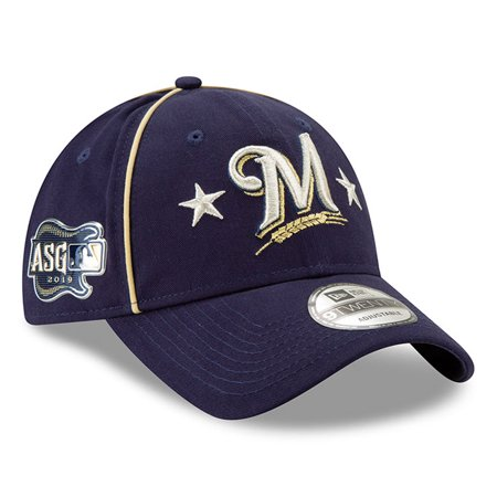 Milwaukee Brewers New Era 2019 MLB All-Star Game 9TWENTY Adjustable Hat - Navy -