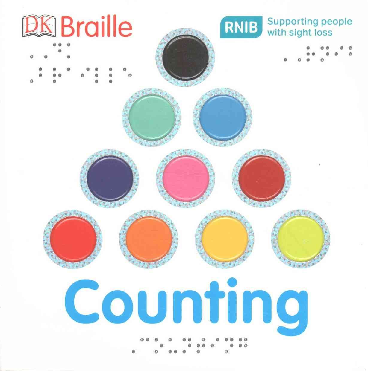 DK Braille Counting (Board book)