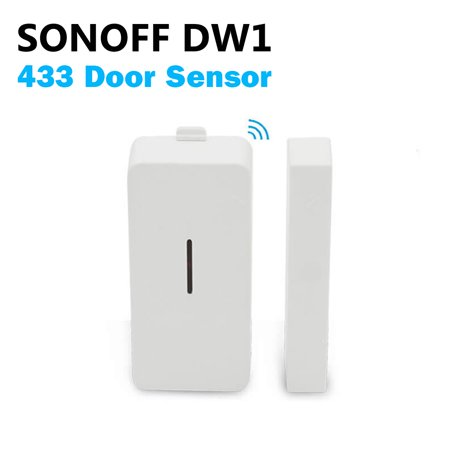 DW1 433MHz Wireless Door And Window Alarm Sensor Security Warning System