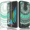 LG K10 Case For Girls, LG Premier LTE Case, Tekcoo [TFlower] Transparent Cute Lovely Adorable Ultra Thin Clear Hard TPU Skin Scratch-Proof Bumper Phone Cases For LG K10 / Primier LTE