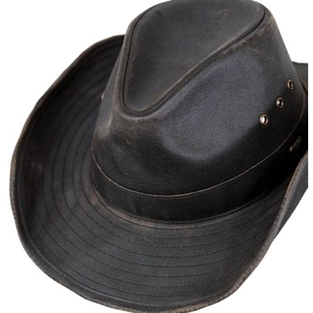 Australian Outback Hats (Outback Trading Hat Men Korona Canyonland Dry Zone Vintage Brown)