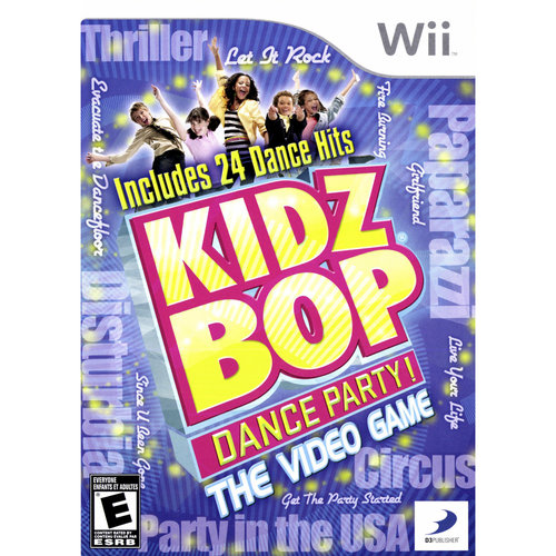 Kidz Bop Dance Party (Wii) - Pre-Owned