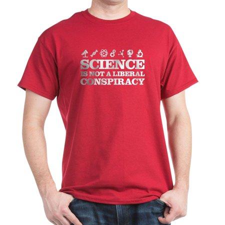 6cf3553d2 CafePress - CafePress - Science Is Not A Liberal Conspiracy T-Shirt - 100%  Cotton T-Shirt - Walmart.com