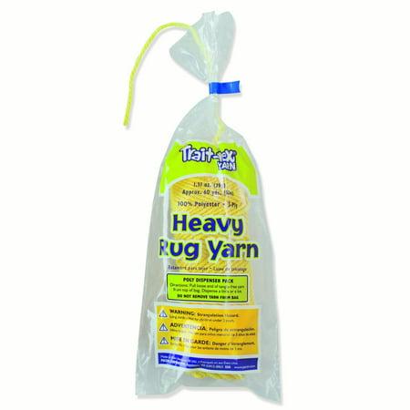 Pacon® Trait-tex® Heavy Rug Yarn, Yellow - 60 yards per pack, 6 packs