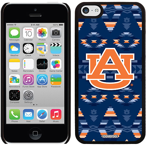 Auburn Tribal Design on Apple iPhone 5c Thinshield Snap-On Case by Coveroo