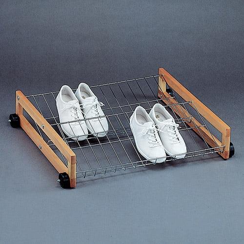 Neu Home Rolling Shoe Rack