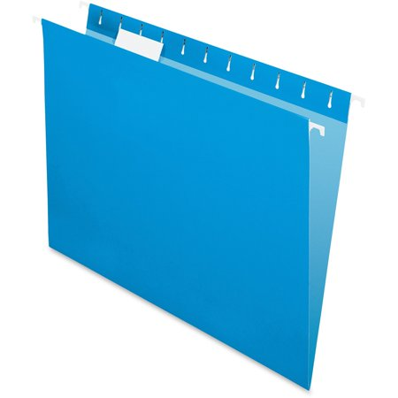 Esselte Pendaflex Hanging Folder - Pendaflex, PFX81603, Colored Hanging Folders, 25 / Box, Blue
