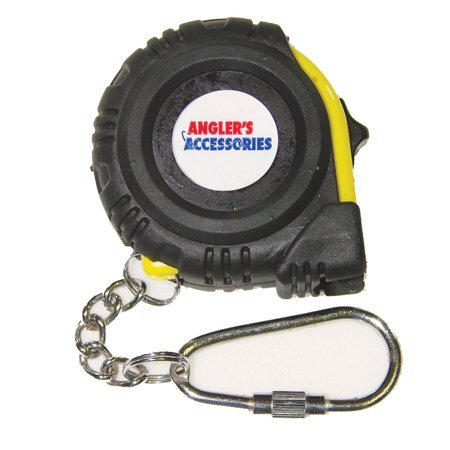 Anglers accessories 40 measuring tape fly fishing tape for Fish tape walmart
