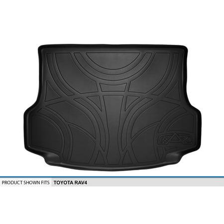MAXTRAY MaxLiner 2013-2018 Toyota RAV4 All-Weather Cargo/Trunk Liner Mat BLACK ()