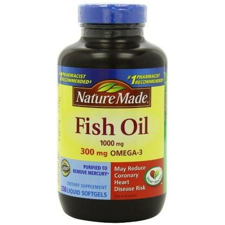 Nature Made Fish Oil Liquid Softgels 200ct