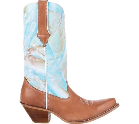 "Women's Stitch Durango Boot DRD0207 Fancy Stitch Women's 12"" Western Boot 931792"