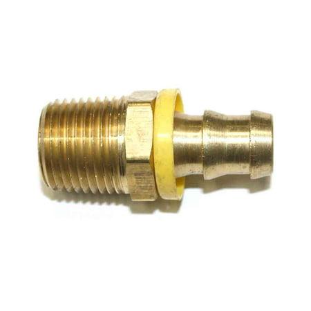- Interstate Pneumatics FL188 Easy Lock Brass Hose Fittings, Connectors, 1/2